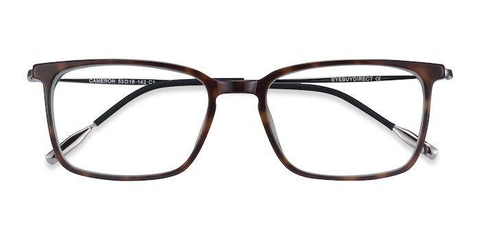 Tortoise Cameron -  Metal Eyeglasses