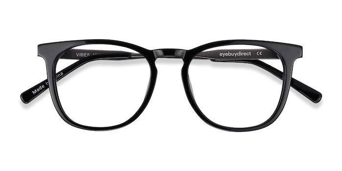 Black Vibes -  Fashion Acetate, Metal Eyeglasses