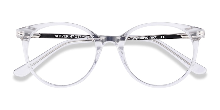 Clear Solver -  Acetate Eyeglasses