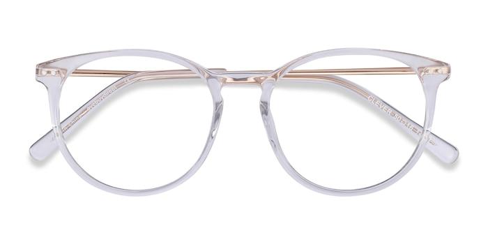 Clear Clever -  Metal Eyeglasses