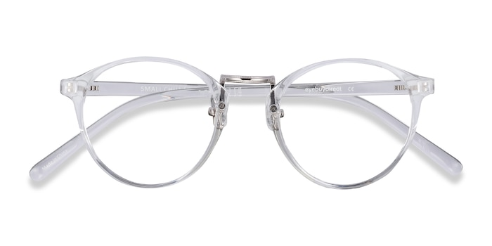 Clear Small Chillax -  Lightweight Metal Eyeglasses