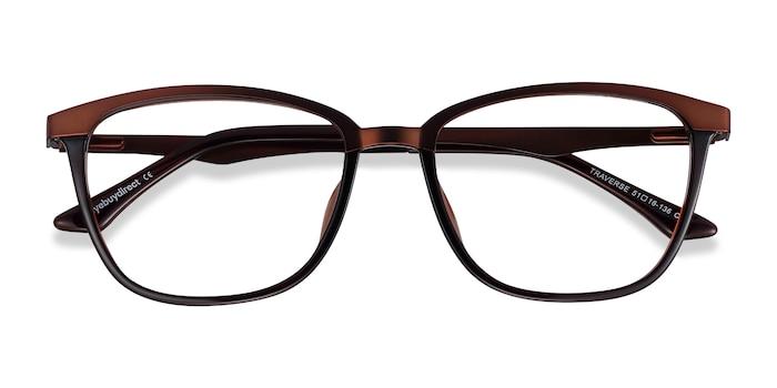 Coffee Traverse -  Metal Eyeglasses