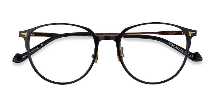 Black Peak -  Fashion Metal Eyeglasses