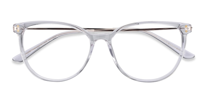 Clear Nebulous -  Lightweight Acetate Eyeglasses