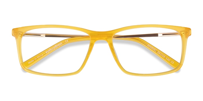 Yellow Marvel -  Colorful Acetate Eyeglasses