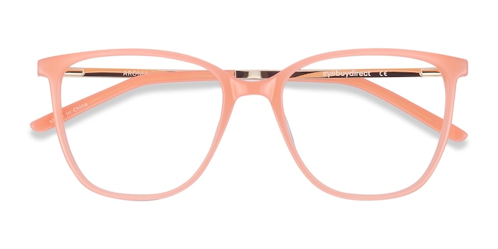 Coral Aroma -  Fashion Acetate, Metal Eyeglasses