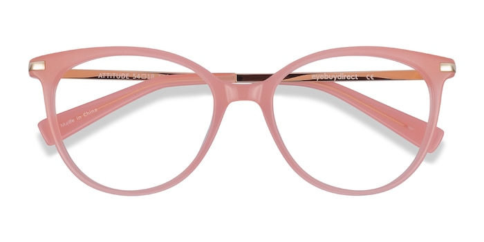 Coral Attitude -  Colorful Acetate Eyeglasses