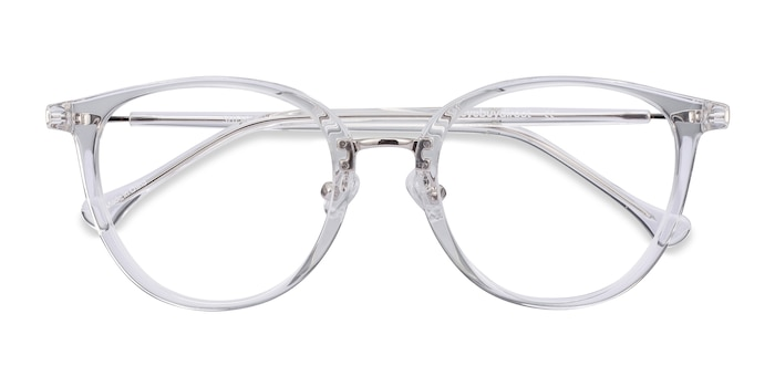Clear Shelby -  Metal Eyeglasses