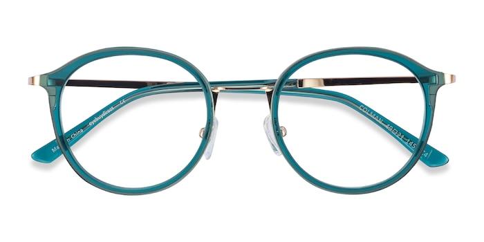 Green Colman -  Colorful Acetate, Metal Eyeglasses