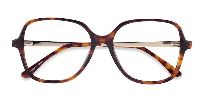 Tortoise Corey -  Fashion Acetate, Metal Eyeglasses