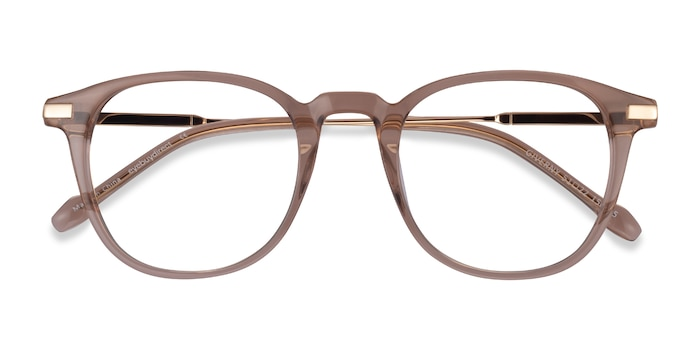 Clear Brown Giverny -  Acetate Eyeglasses