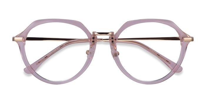 Clear Pink Tamara -  Acétate Lunette de Vue