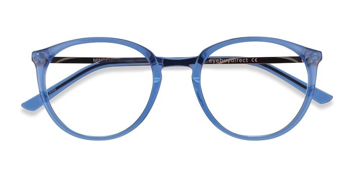 Clear Blue  Gold Mindful -  Acétate Lunette de Vue