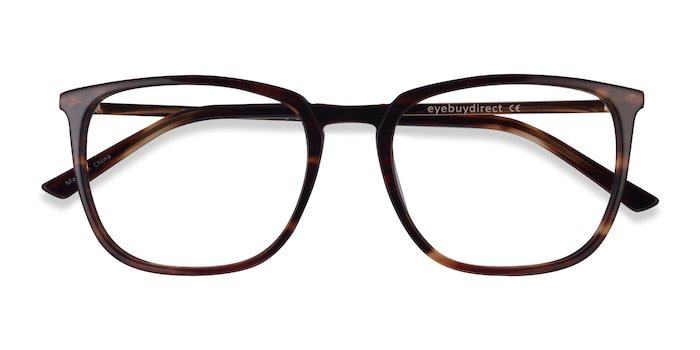 Tortoise  Gold Domenico -  Acetate Eyeglasses