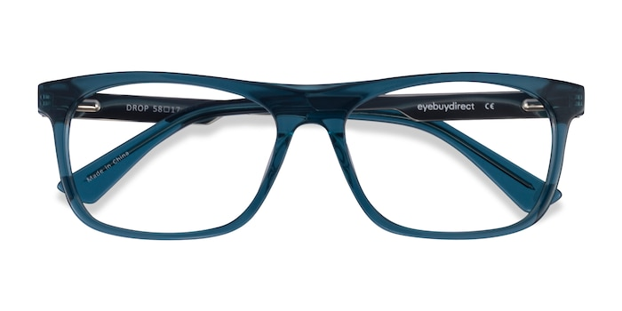Green  Silver Drop -  Acetate Eyeglasses