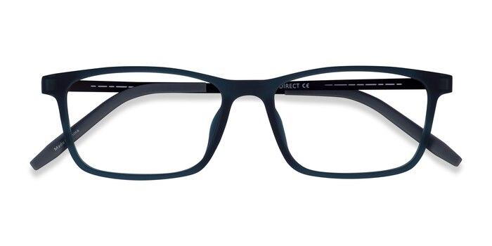 Matte Green Rebus -  Plastic Eyeglasses