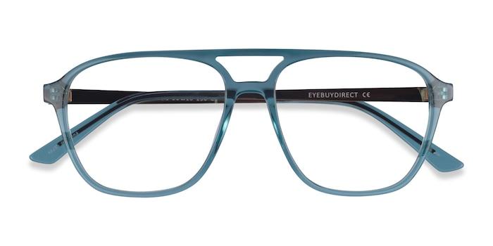Teal Metropolis -  Acetate Eyeglasses