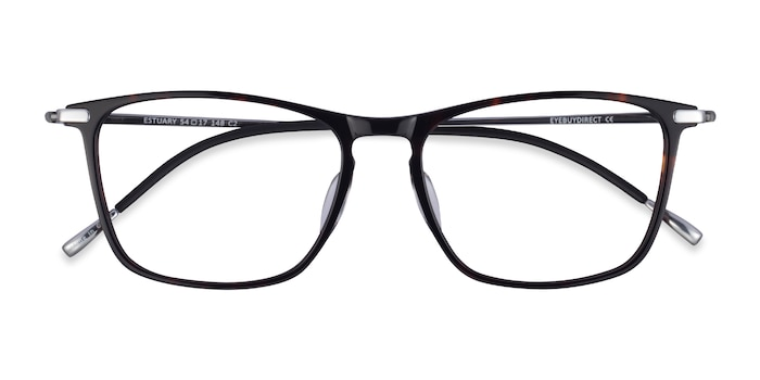 Tortoise Silver Estuary -  Acetate Eyeglasses