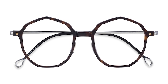 Tortoise Silver Carmelo -  Acetate Eyeglasses