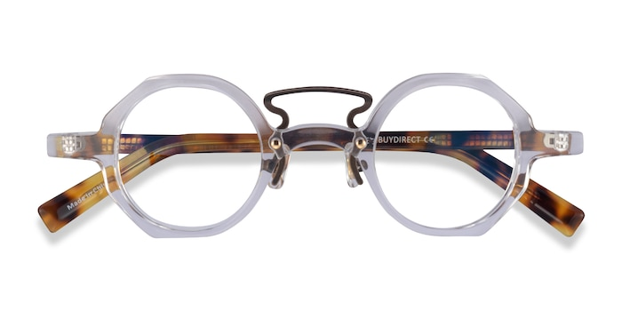 Clear Tortoise Very -  Acetate Eyeglasses