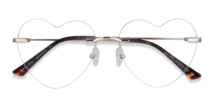 Gold Amore -  Fashion Metal Eyeglasses