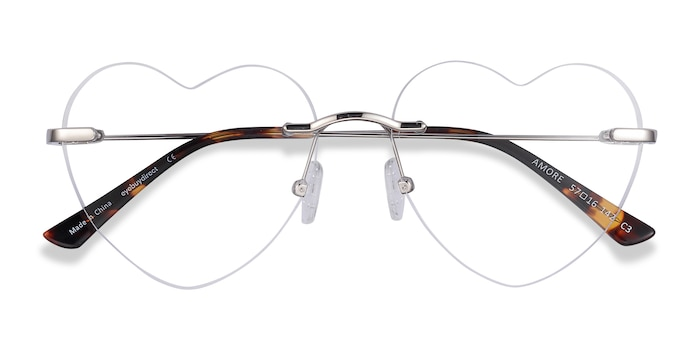 Silver Amore -  Fashion Metal Eyeglasses