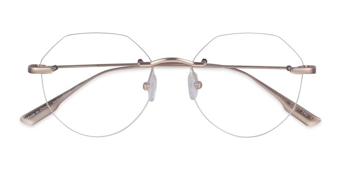 Gold Sahar -  Fashion Metal Eyeglasses
