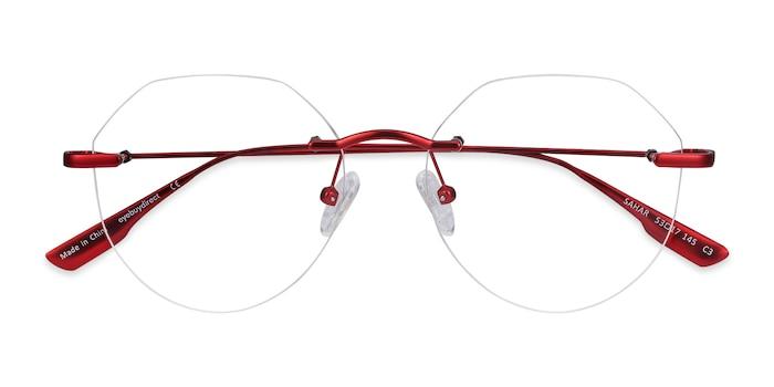 Red Sahar -  Metal Eyeglasses