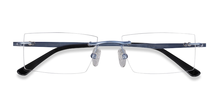 Blue Primo -  Metal Eyeglasses