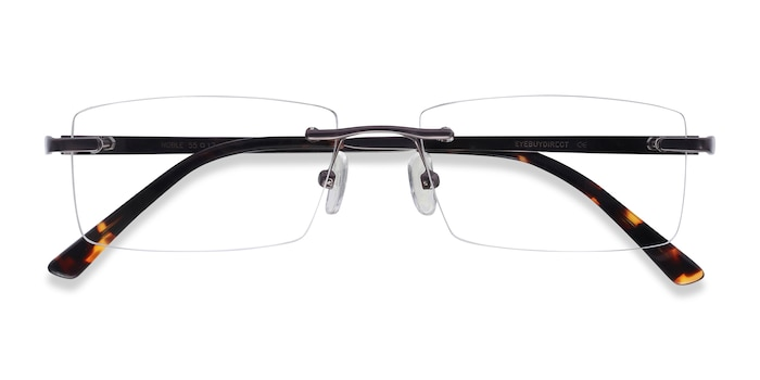 Gunmetal Noble -  Metal Eyeglasses