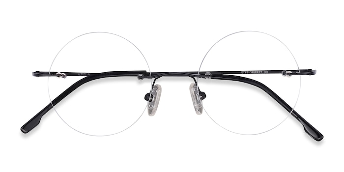 Black Altus -  Lightweight Metal Eyeglasses