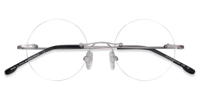 Silver Altus -  Vintage Metal Eyeglasses