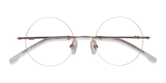 Rose Gold Altus -  Fashion Metal Eyeglasses