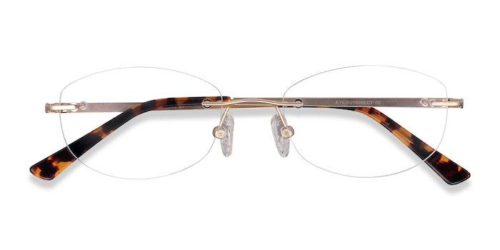 Gold Athena -  Metal Eyeglasses