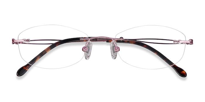 Purple Create -  Colorful Metal Eyeglasses