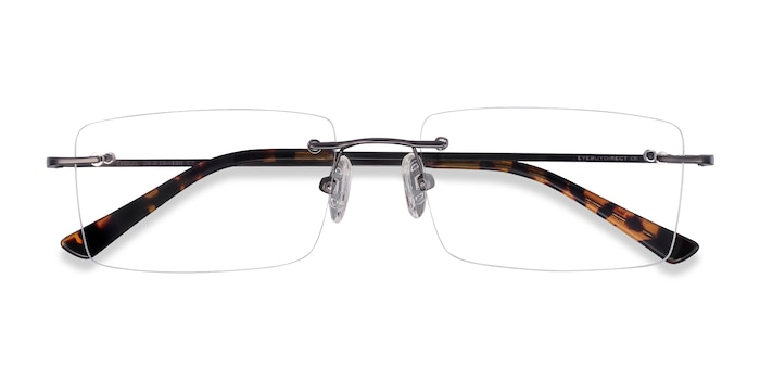 Gunmetal Evolve -  Metal Eyeglasses