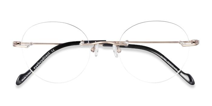 Gold Shine -  Lightweight Titanium Eyeglasses