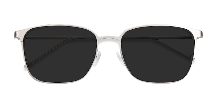 Silver Jolt -  Metal Sunglasses