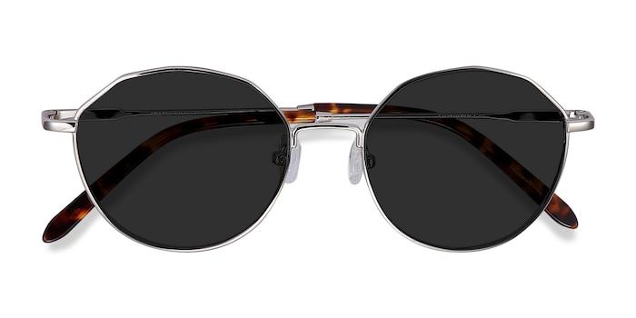 Silver Village -  Vintage Metal Sunglasses