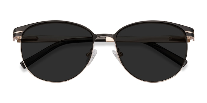 Black Maui -  Metal Sunglasses