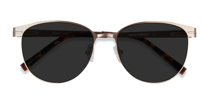 Rose Gold Maui -  Metal Sunglasses