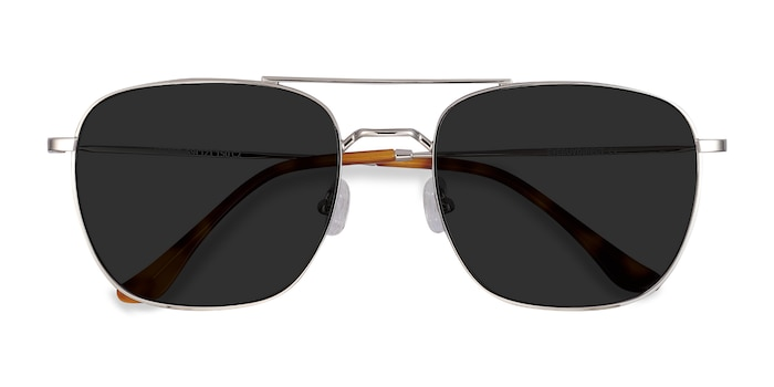 Silver Seeker -  Vintage Metal Sunglasses