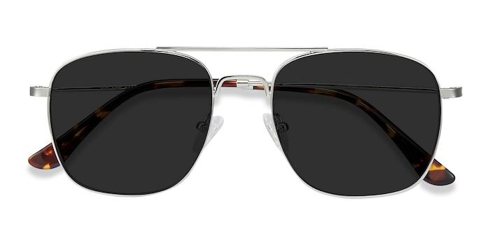 Silver Sun Fame -  Vintage Metal Sunglasses