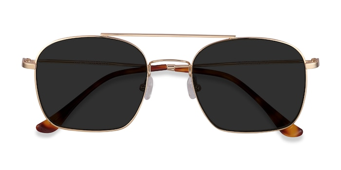 Golden Itza -  Vintage Metal Sunglasses
