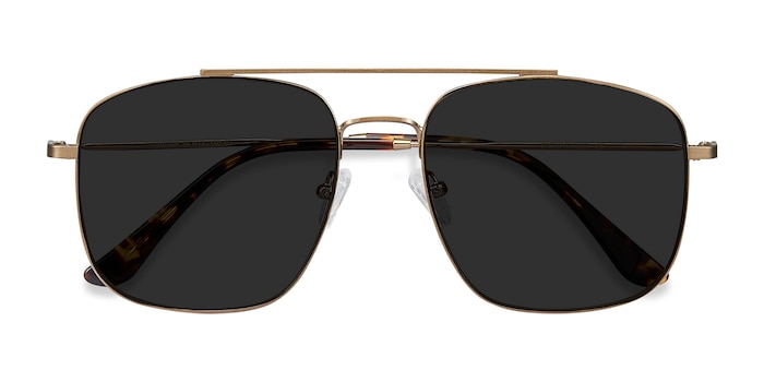 Copper Roadtrip -  Vintage Metal Sunglasses
