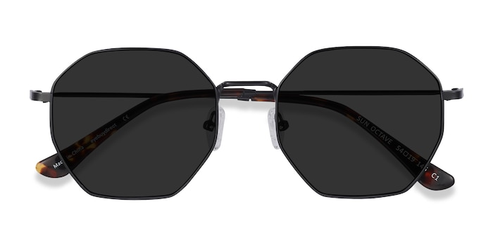 Black Sun Octave -  Metal Sunglasses