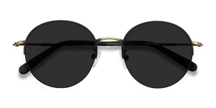 Black Bronze Sun Albee -  Métal Lunettes de soleil