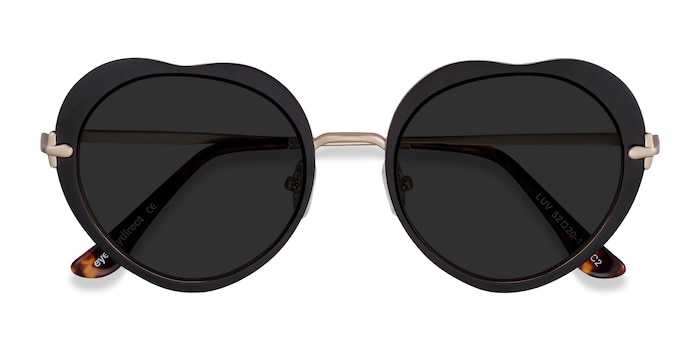 Black Luv -  Metal Sunglasses