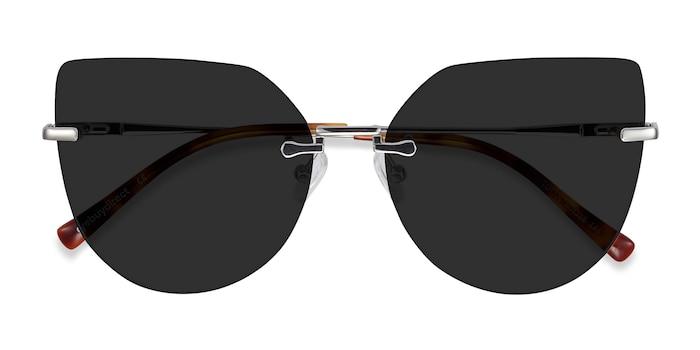 Silver Toyah -  Metal Sunglasses