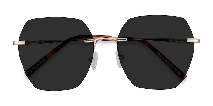 Gold Genoa -  Metal Sunglasses
